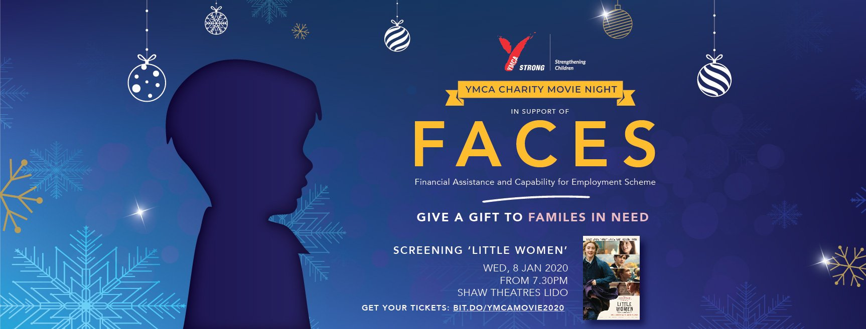 Give a Gift to Families in Need by YMCA 8 Jan 2020