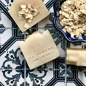mynakedbar Unscented Oatmeal Soap