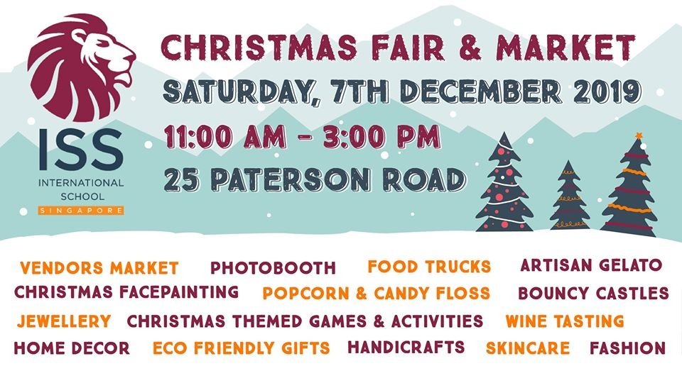 ISS Christmas Fair & Market (Orchard)