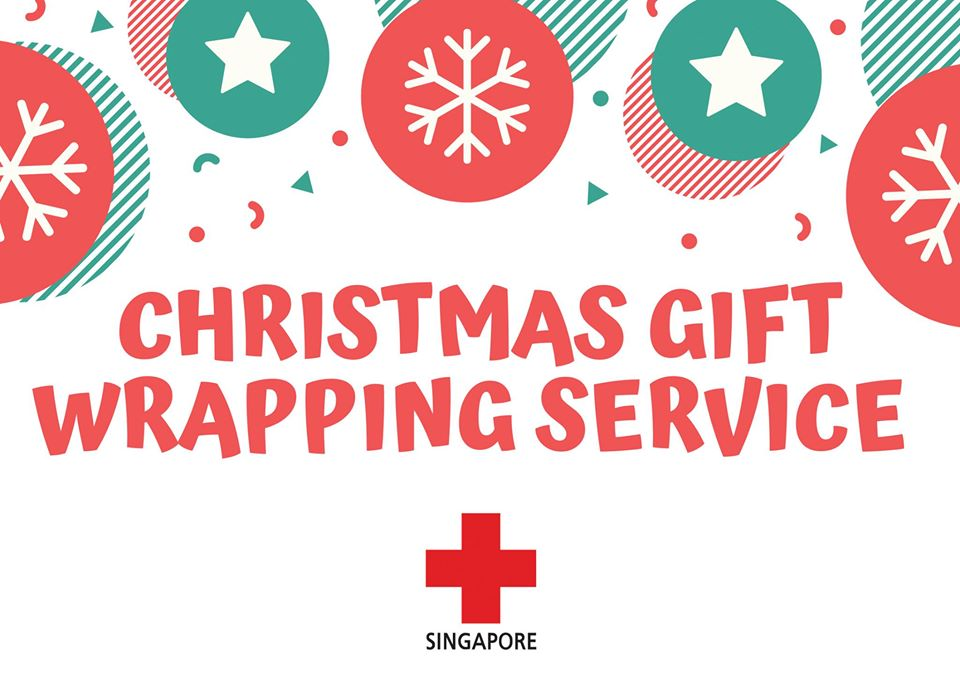 Red Cross Christmas Gift Wrapping Service